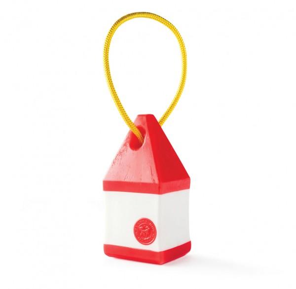 SALE 30% * Orbee-Tuff® Buoy - die schwimmende Boje am Seil rot-weiß