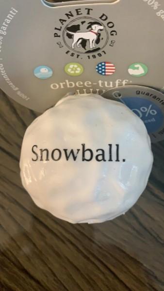 SALE 30% * Orbee-Tuff® SNOWBALL weiß Größe M