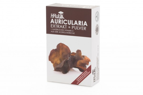 Auricularia Extrakt+Pulver Kapseln