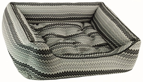 Dandy Bed ® Zik Zak No. 5 grau Größe M SALE jetzt 149,00 € statt 259,00 €