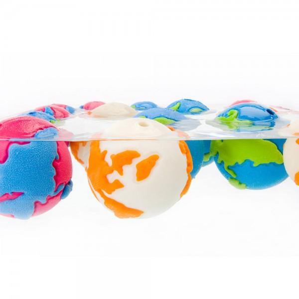 SALE 30% * Orbee Tuff® Orbee Ball® Weltkugel pink/blau Größe M