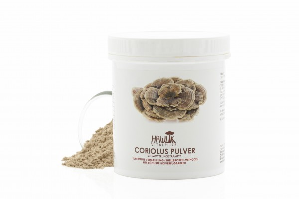 Coriolus Pulver 100 g HAWLIK®